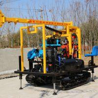 厂家现货地探钻机 地质勘探钻机 岩心钻机整机采用国标钢材框架