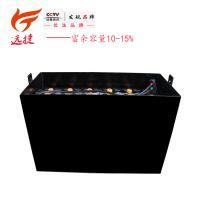 叉车电池 水电瓶 叉车蓄电池品牌 电瓶蓄电池6VBS420-48V铁箱定制