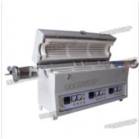滑轨法兰快速降温热处理管式电炉 博莱曼特快速降温管式炉