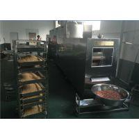 裹衣花生烘烤设备 微波花生烘焙设备 专业厂家定做花生烘烤机价格