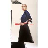 杭州品牌女装初次印象新款女装厂家直销一手货源低价折扣批发