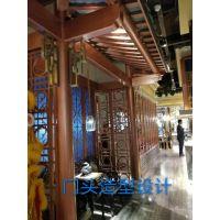 宜春门头造型铝窗花艺术装饰