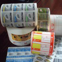 厂家定做透明pvc不干胶标签 铜版纸烫金哑银 彩印卷筒不干胶印刷