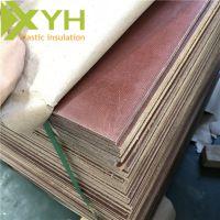 雄毅华生产咖啡色布板 层压棉布板 绝缘板加工定制