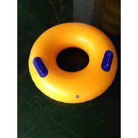 环岛体育加厚黄色单人双人四人六人充气划水圈滑水圈冲浪皮筏