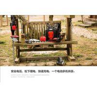 厂家直销恩加36V背负式专业锂电绿篱机