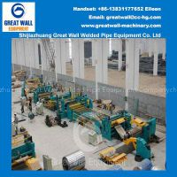 High Speed Uncoiling-Slitting-Recoiling Line