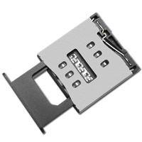 东莞 SOFNG SIM-017 尺寸:16.5mm*15.9mm*1.5mm SIM卡连接器