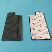 定制异形硅胶垫片 3M自粘硅胶减震垫片 黑色硅橡胶防滑胶垫