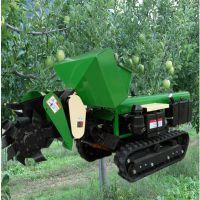 果园施肥有机肥开沟机 启航牌柴油除草机 自走式柴油开沟机
