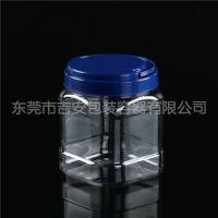 PET 1.47L塑料透明瓶 1.47kg包装方罐