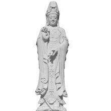 实力厂家批发净瓶观音菩萨像石雕 滴水观音 宗教寺庙神殿工艺品雕塑雕刻工艺品