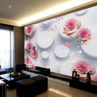 大型壁纸 3D无缝墙布立体壁画 3D立体电视背景墙无缝壁纸