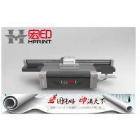 金属牌印刷机怎么样 铭牌彩印加工制作机 理光2513亚克力广告制作设备