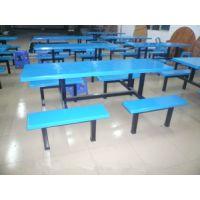 厂家直销饭堂餐桌椅批发 中山定做玻璃钢餐桌椅定做