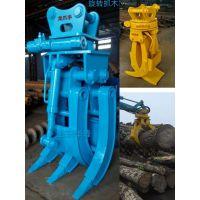 定做龙爪手60-400型挖掘机旋转机械抓木器抓钢机抓铁机