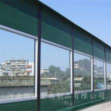 厂家订制 高速公路 玻璃钢声屏障 隔音墙 圆孔吸声板 河南新力