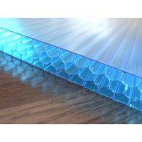 河北衡水供应用于温室大棚防滴露8mm透明双层阳光板 —典晨品牌