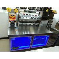 奶茶店冷饮店设备操作台制冰机封口机果糖机等一站式服务