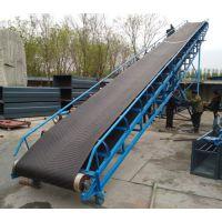 汉中带式防滑送料机 行走式液压升降传送机
