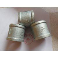 供应无棣鑫润五金生产铸铁碳钢镀锌DN40内丝螺纹管古