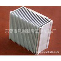 东莞 深圳 工业铝型材挤压 大功率散热器铝型材 CNC精密机加工 客户来图来样开模订做