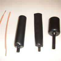 厂家直销 DW4双壁含胶热缩管 黑色防水热缩绝缘套管