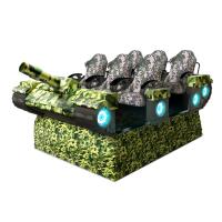 VR游戏机设备生产 9DVR虚拟现实设备6座VR坦克世界