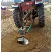 钻头采用锰钢合成 汽油挖坑机