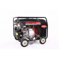 190A汽油发电电焊两用机便携施工