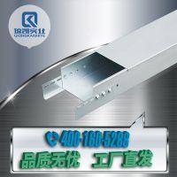 琼凯热镀锌线槽强弱电防火网络穿线电缆槽式金属桥架300*200*1.2
