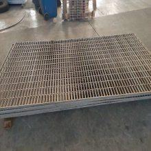 批发电厂平台金属网板 热镀锌盖沟板 钢格板价格