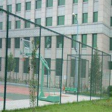 篮球场围栏网高度 绿色勾花网 安全隔离球场护栏