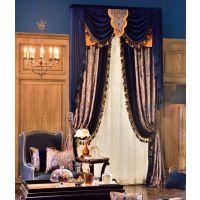 成都窗帘 窗帘设计 7克拉质感良好、色彩艳丽