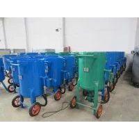 供应佛山威腾大型除锈移动式喷砂机 油罐翻新开放式喷砂机