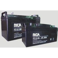 MCA蓄电池锐牌型号大全