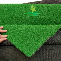 【时宽】10mm短草卷丝深绿色景观假草坪,楼顶庭院地面绿化绿地毯人工草皮