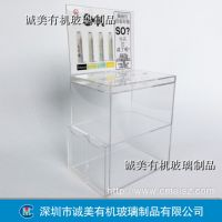 电子烟多层展示架 烟油烟液亚克力货架 卖场有机玻璃精品架