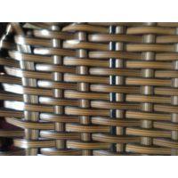 咖啡色双面片藤,家具、工艺品编织材料 塑料扁 藤,厂家订制
