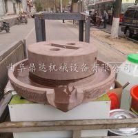做早餐专用豆浆石磨机 广东电动豆浆石磨机 鼎达纯手工