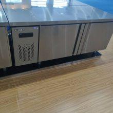 供应 山东菏泽市餐厅保鲜工作台   保鲜柜价格 冷冻工作台厂家