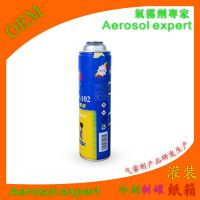 自定携带氧气罐 压缩空气马口铁瓶 发胶粘胶喷雾罐