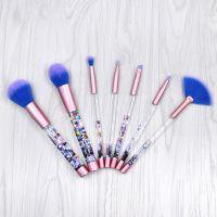 kainuoa/凯诺工厂批发 7支独角兽化妆刷套装 流沙化妆刷包美妆彩妆工具