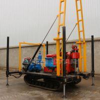 厂家直销开孔直径300mm地质勘探钻机 小型水井钻机 液压钻机