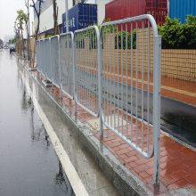 云浮非人行道防护栏杆 中心倒U型防撞护栏厂家 湛江机动车围栏