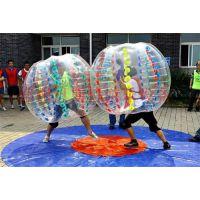 河南双人人体碰碰球碰碰撞撞更加趣味性