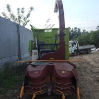 履带式牧草收割机 玉米秸秆收获机 苜蓿草靑储机厂家