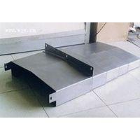 钢板防护罩专业加工厂家钢板机床导轨防护罩 油缸防尘套
