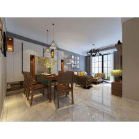 现代简约风格两居室装修设计案例,木质的温暖与黑色的沉稳,营造出一个温馨气质之家! 