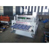 博远厂家供应800竹筒式仿古琉璃瓦成型设备